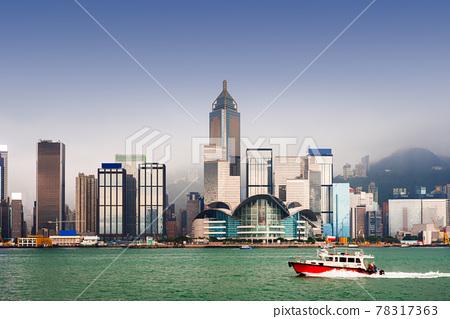 Hong Kong, China city skyline 78317363