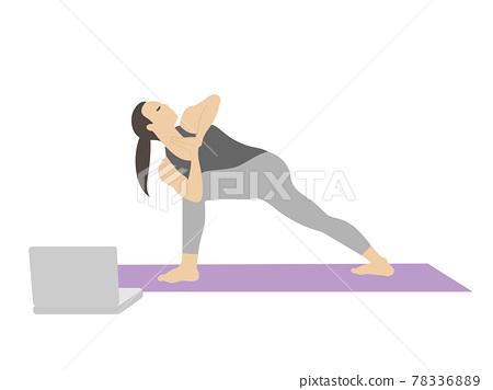 yoga, female, females 78336889