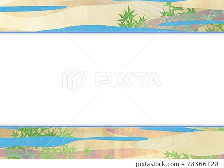 녹색 단풍, 푸른 단풍, 초록 단풍 78366128