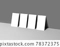 명함목업 3D목업 연출 오브젝트 포트폴리오 템플릿 78372375