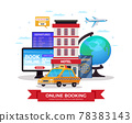 Travel Tourism Booking Composition 78383143