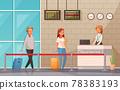 Airport Cartoon Background 78383193