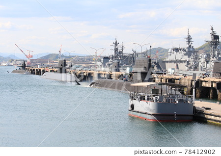 alley karasu-kojima, submarine, escort vessel 78412902