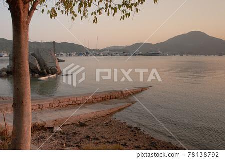 the bay at Hebe Haven , sai kung 4 Dec 2005 78438792
