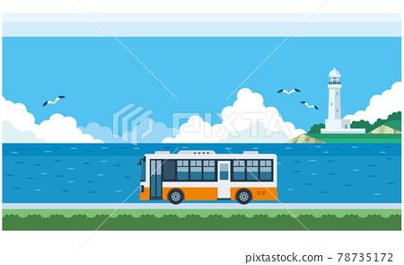 bus, vehicle, car 78735172