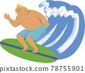 一個衝浪的人 78755901