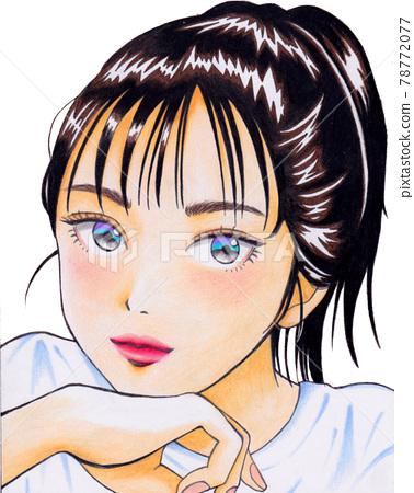girl, teenage girls, young girl 78772077