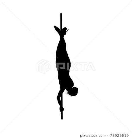 Strip Dancer Silhouette 78929619