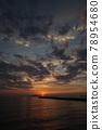 Sunset sea perming210620 superb view stock photos 78954680