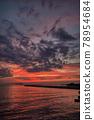 Sunset sea perming210620 superb view stock photos 78954684