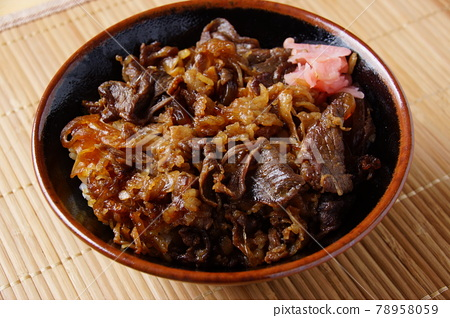 Gyudon bowl 78958059