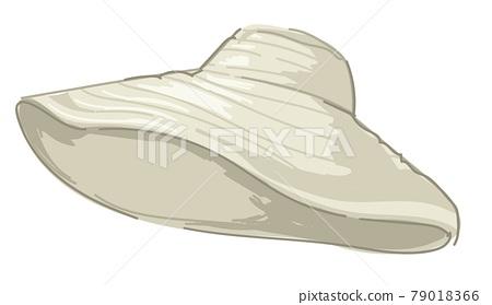 Summer fedora hat, stylish nautical accessory 79018366