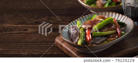 蘆筍 香腸 食物 79220229