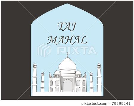 taj mahal, world heritage, mosque 79299241