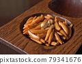 kaki seed, rice cracker, bean candy 79341676