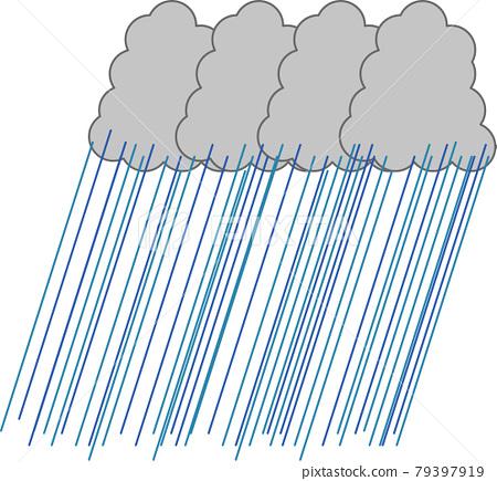 Linear precipitation zone 79397919