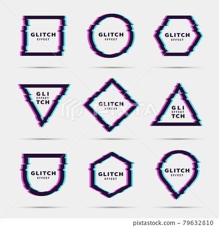 Glitch effect for frame 79632810