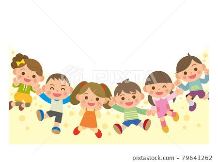 孩子們跳 79641262