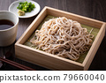 Eat buckwheat noodles 79660040