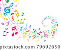 Musical Note, musical note, note 79692650