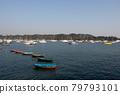 A capsized boat is seen at Hebe Haven sai kung , hong kong  4 Dec 2005 79793101