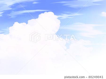 뭉게 구름 80249041