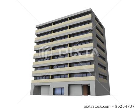condo, condominium, architectural model 80264737