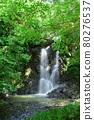 폭포, 녹, 초록 80276537
