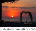 sunset, dusk, beach 80329745