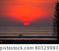 sunset, dusk, beach 80329983