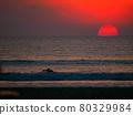 sunset, dusk, beach 80329984