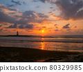 sunset, dusk, beach 80329985