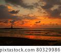 sunset, dusk, beach 80329986