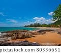 Quiet tropical beaches and resorts (Khaorak, Phang Nga Province, Kingdom of Thailand) 80336651