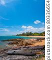Quiet tropical beaches and resorts (Khaorak, Phang Nga Province, Kingdom of Thailand) 80336654