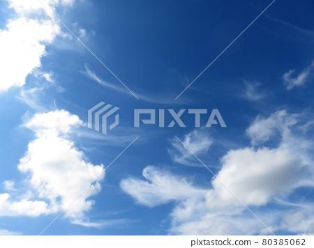 하트 구름 80385062