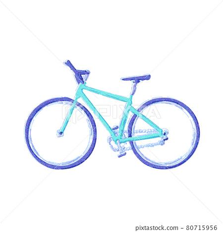 Sideways cross bike. 80715956