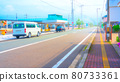 Roads and streets Anime-style processing 80733361