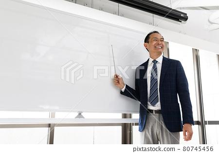 Men in a suit 80745456