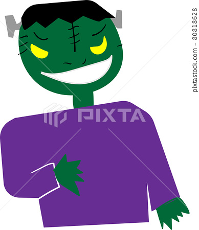 One Frankenstein on Halloween 80818628