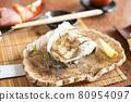 日本懷石料理:岩牡蠣 80954097