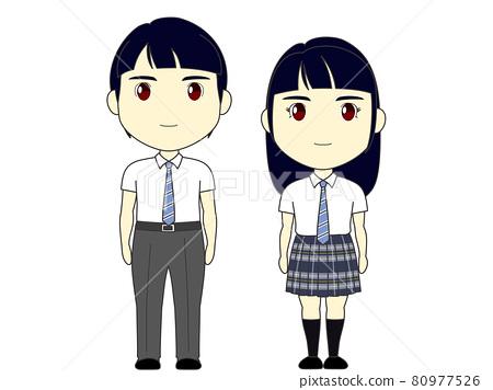 High school student summer clothes Yamagata 80977526