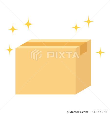 cardboard, a box, box 81033966