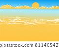beach vector 81140542
