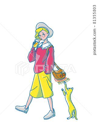 female, lady, woman 81355803
