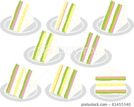 sandwich, sandwiches, ham sandwich 81455340