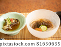日本懷石料理開胃菜 81630635