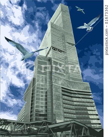 harukas, high rise, high-rise building 81673362