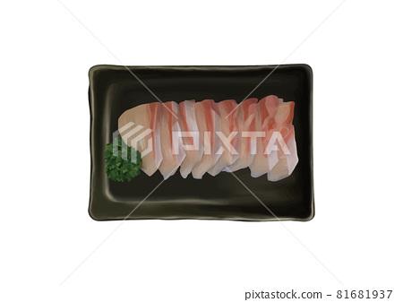 黃尾魚刺身 81681937