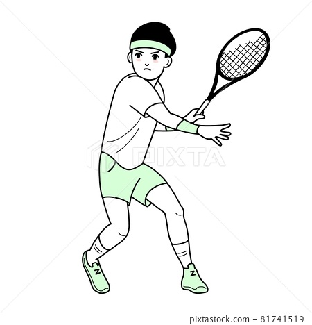 Tennis tennis player 81741519